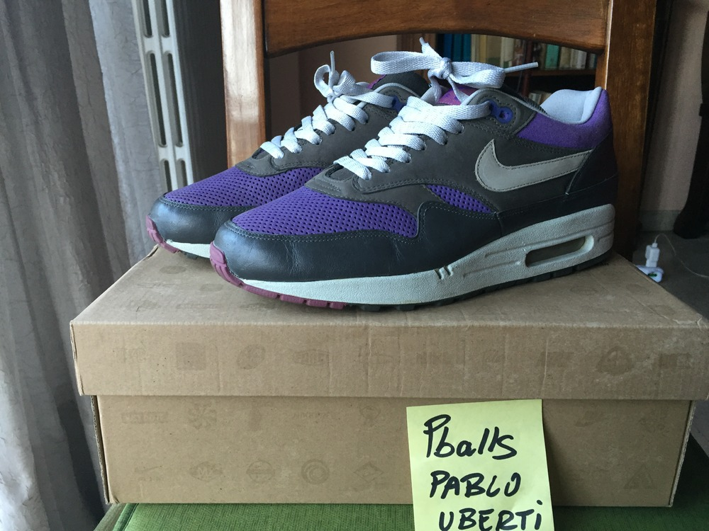 nike air max 1 purple pack 2006