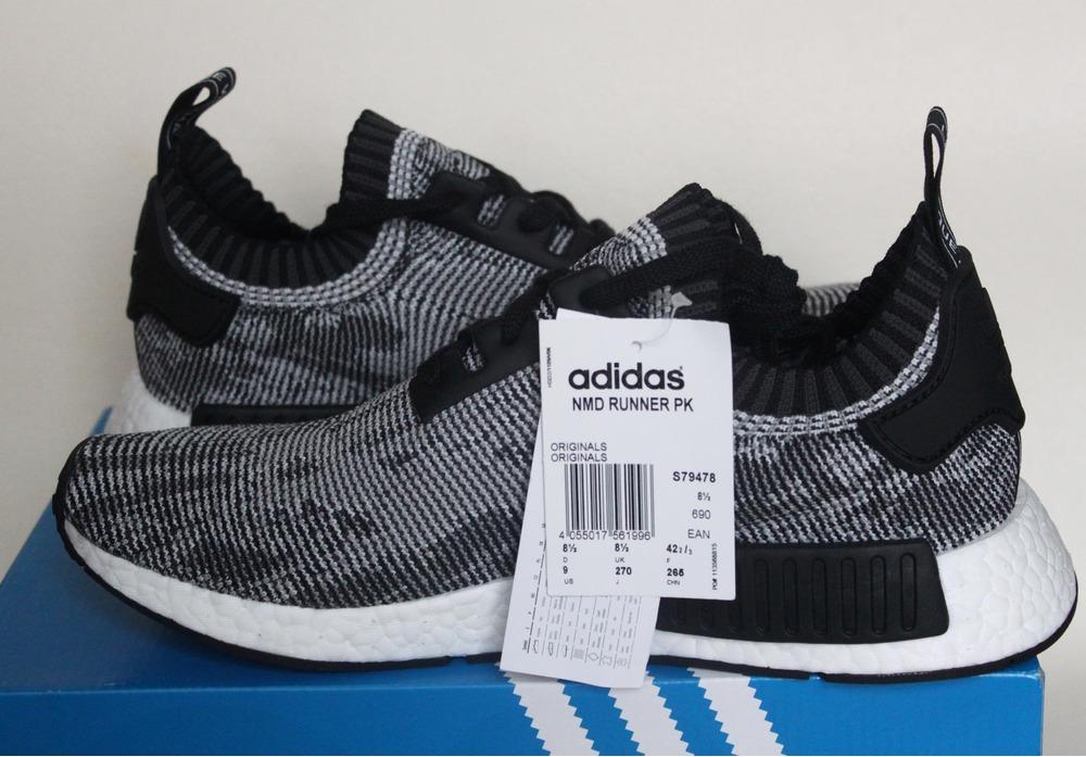 Adidas NMD R1 PK Glitch Grey Oreo S79478
