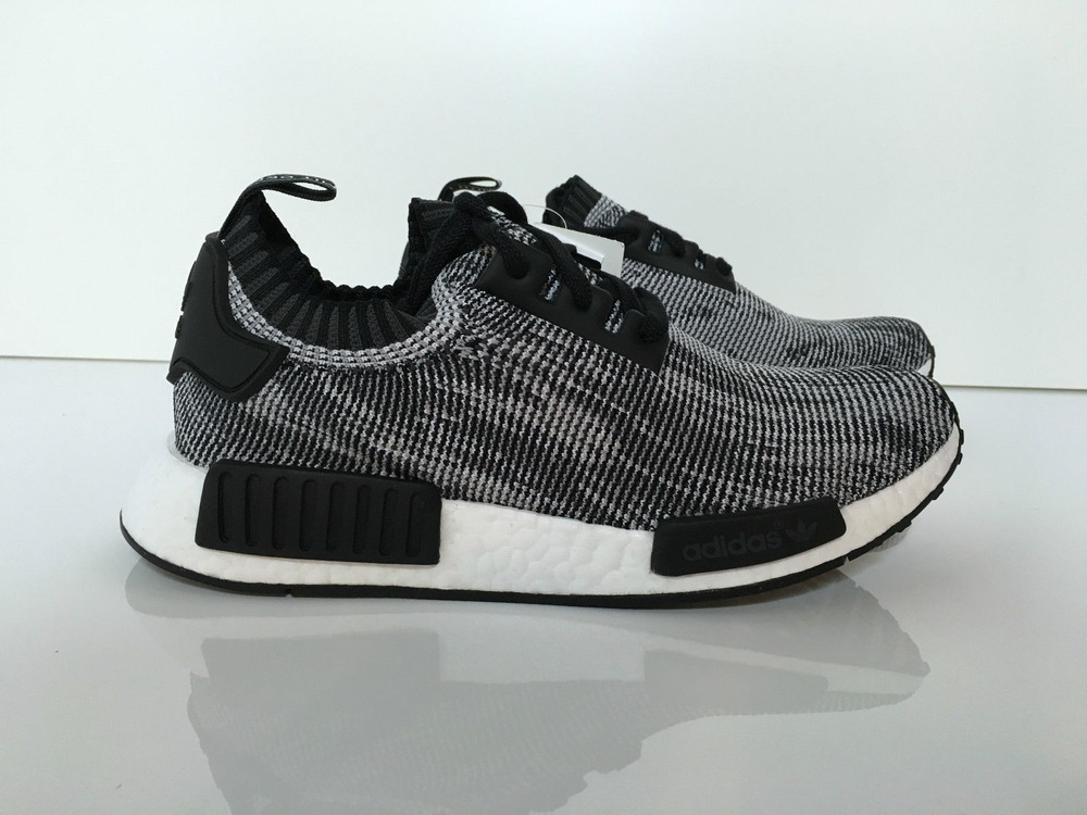 Adidas NMD_R1 Primeknit Shoes NMD R1 PK Tri color Core Black