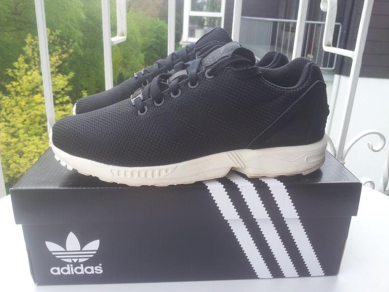 8c2089222f3db adidas Originals ZX Flux Weave Dark Blue   Orange My Sneakers