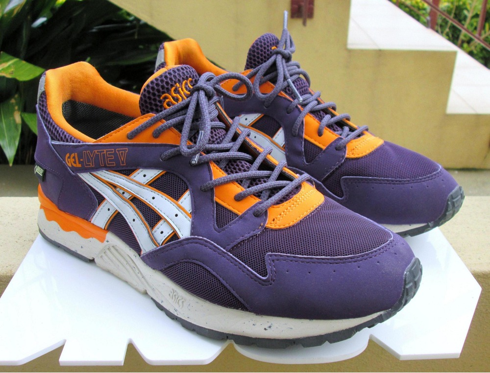 ... and ASICS GEL LYTE V PURPLE   ORANGE GORE-TEX US 9 PRE-OWNED ... 1c0732d7dd0b