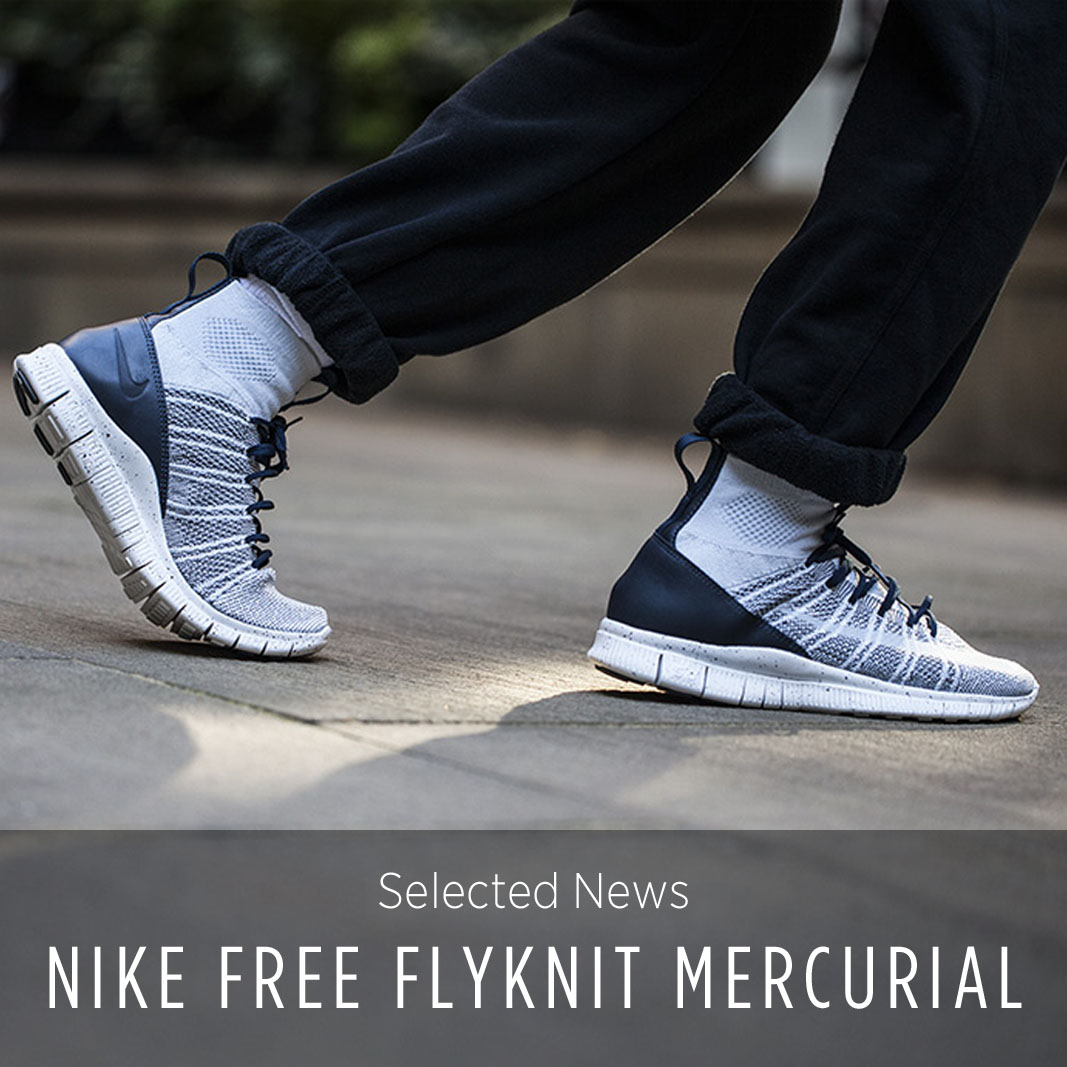 buy online f3ed9 1ed4a Nike Free Flyknit Mercurial Pure Platinum