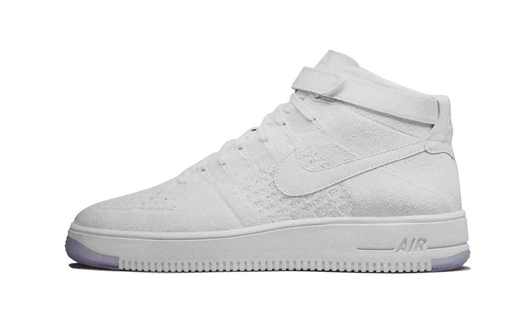 buy online 5989e 50eab Nike Air Force 1 Flyknit – White