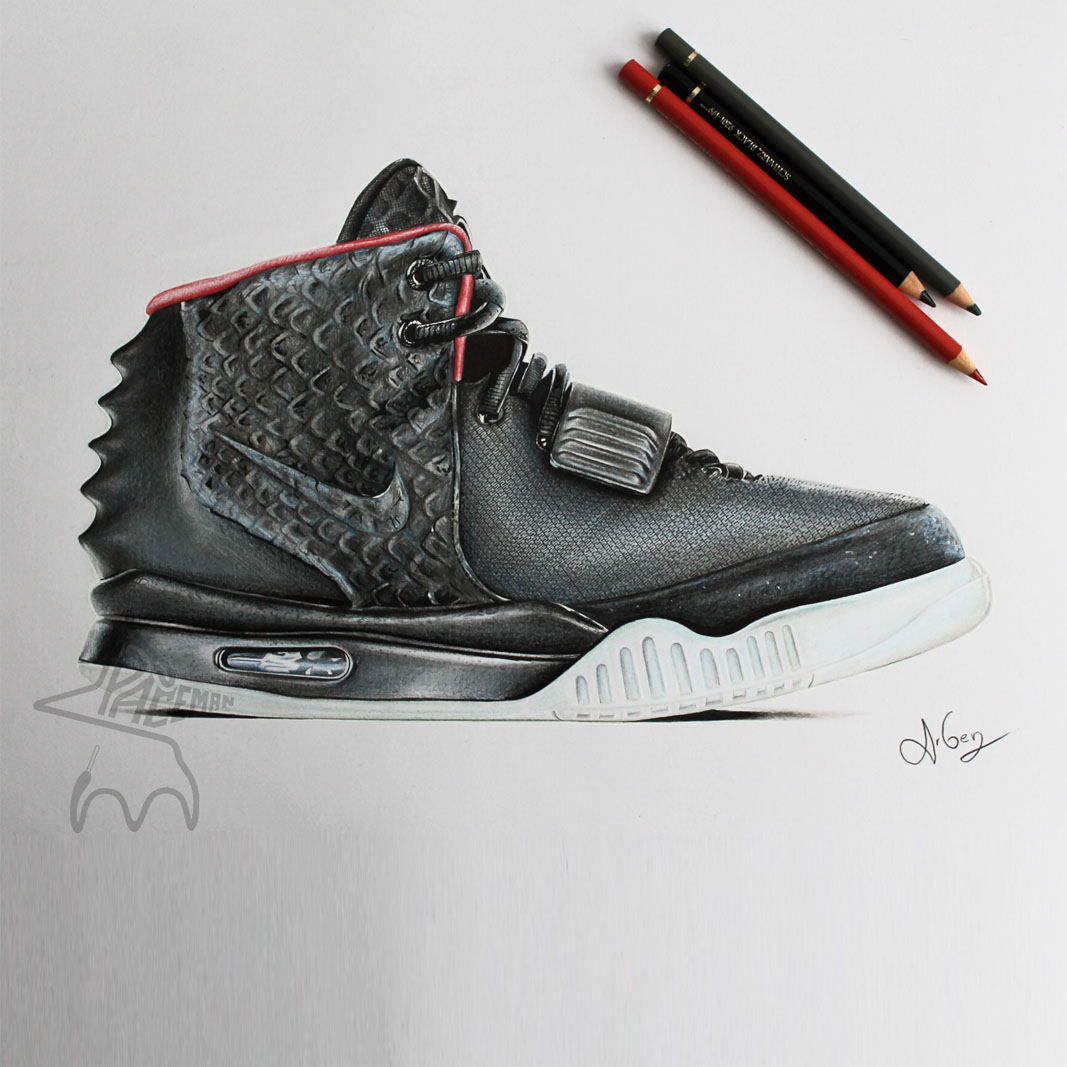 How to Draw Nike, How to Draw Air Force Ones, Step by Step ...