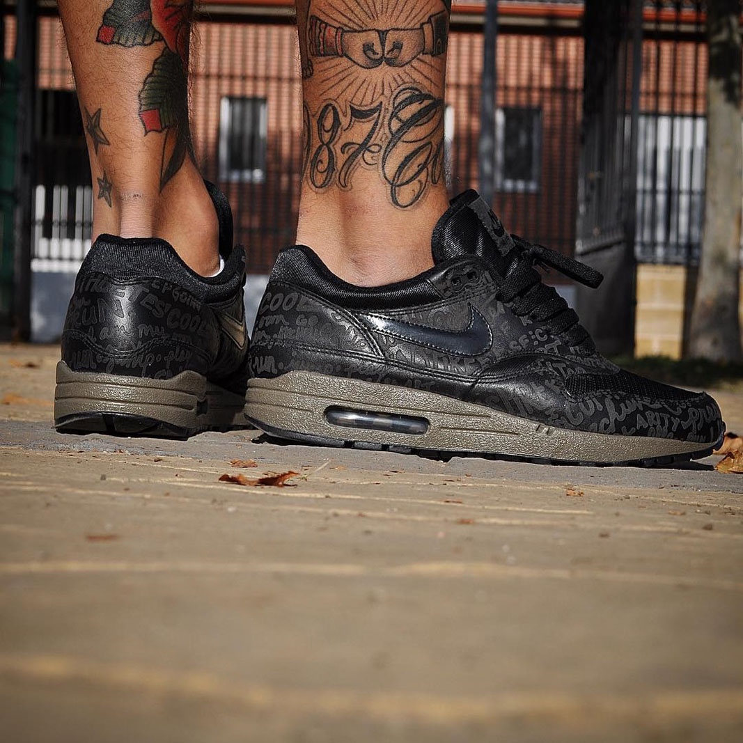 Nike Air Max 1 Powerwall Black Olive | Outsole | Exclusive