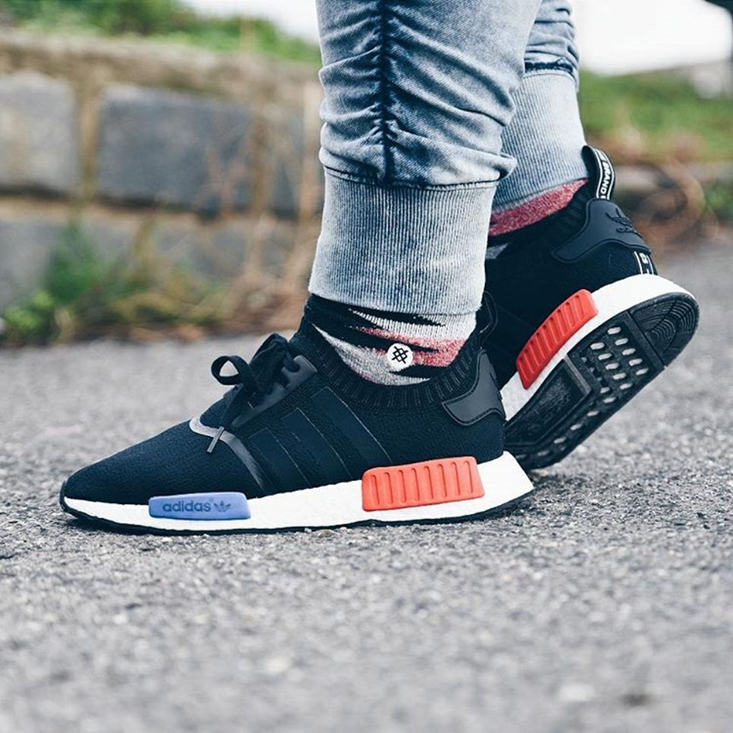 adidas NMD R2 PK core black/red online at Soleboxbox
