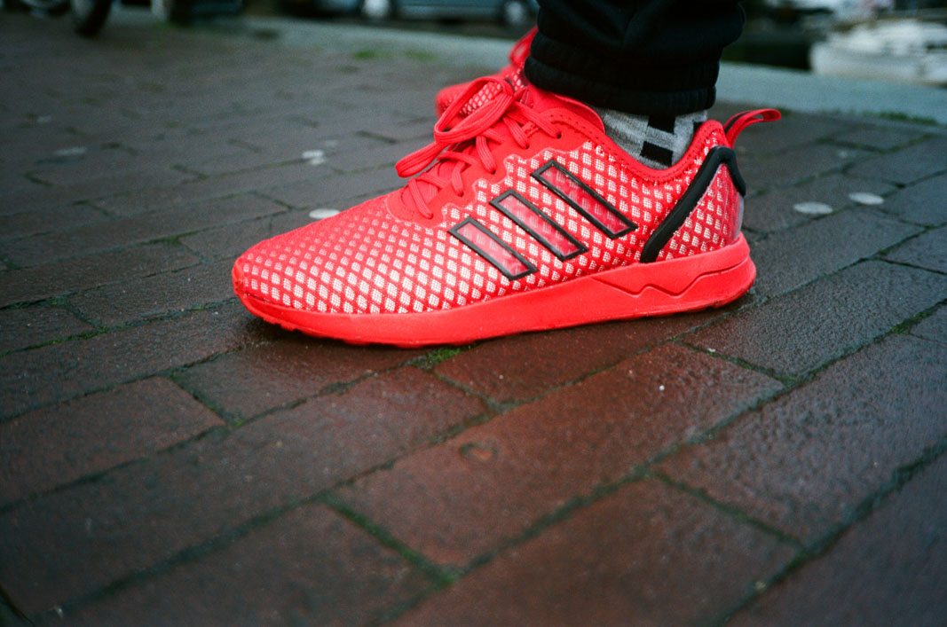 Adidas Zx Flux Adv Red