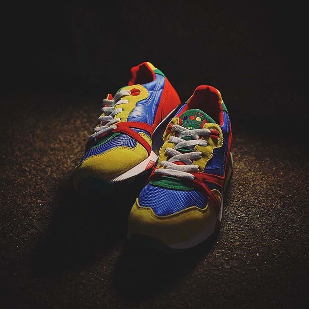 BEAMS x Diadora N9000 BT  Rainbow Capsule  - sneaker collab details 079440e26d7f
