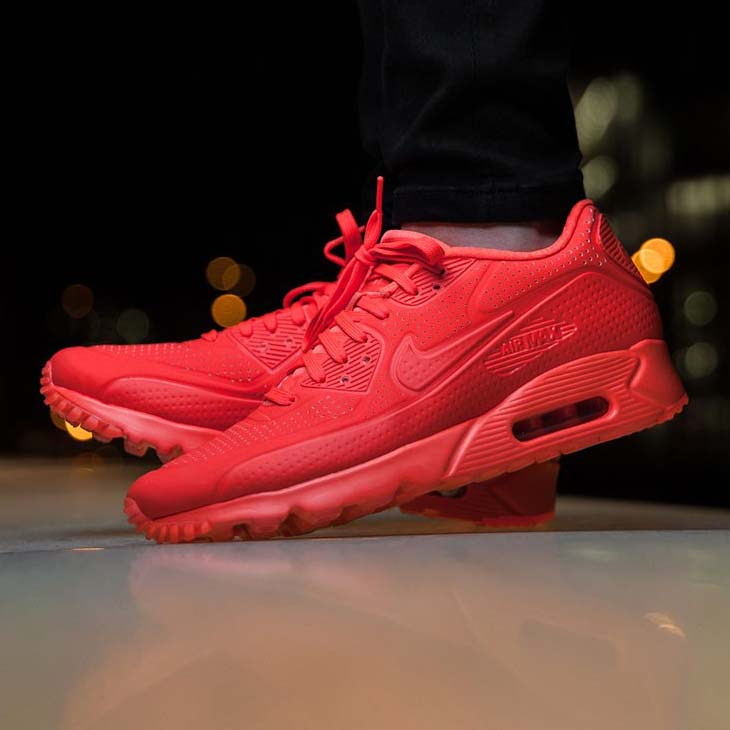 Air Max 90 Ultra Moire Rouge
