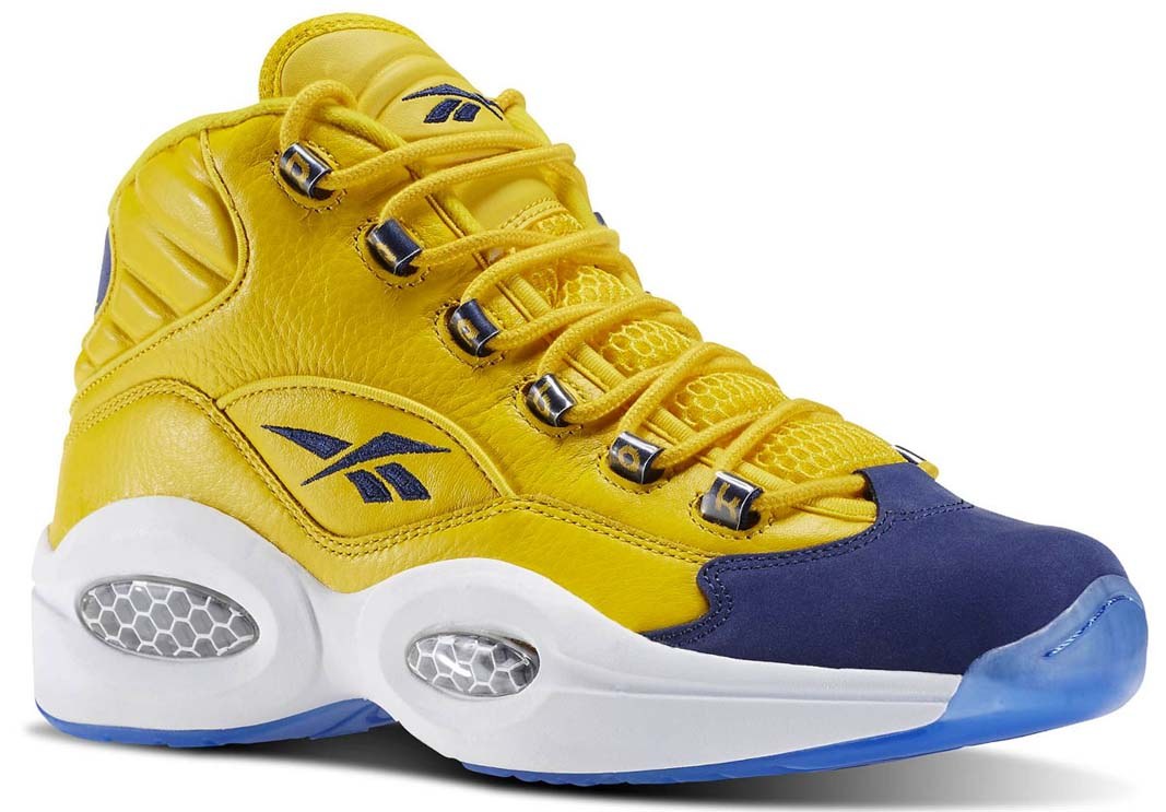 reebok question history of allen iversons signature sneaker
