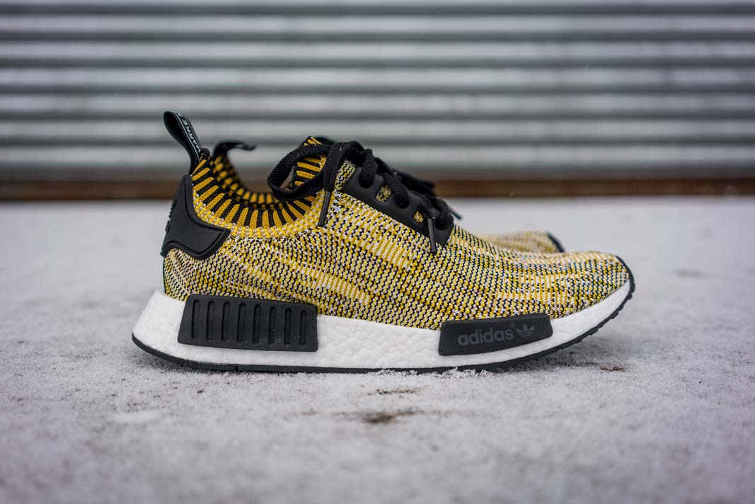 adidas NMD Runner Primeknit (yellow / black) - side