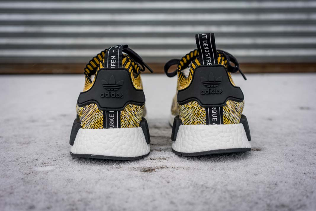 adidas NMD Runner Primeknit (yellow / black) - back
