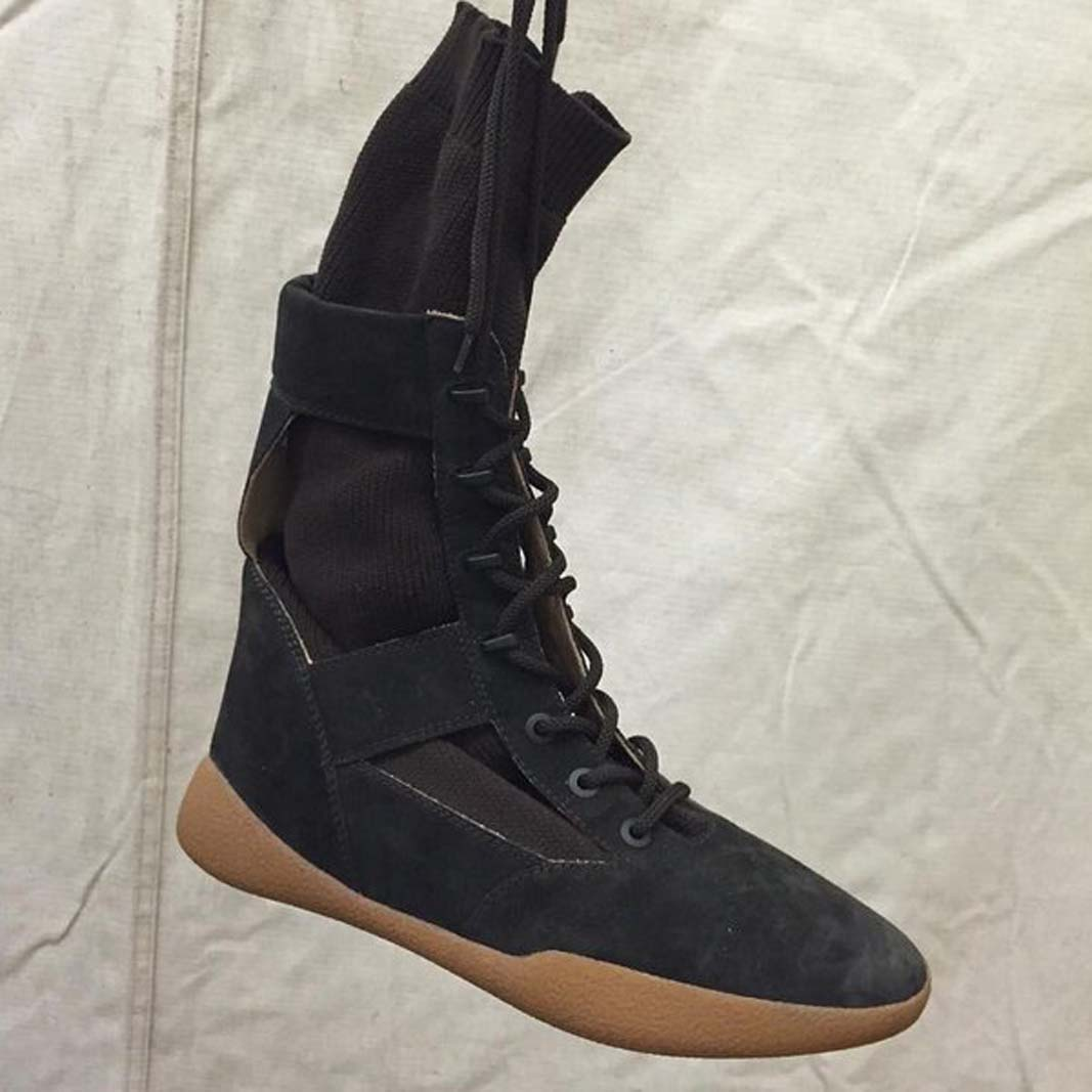 e144376d5 adidas YEEZY Season 3 backstage - new sneaker models and colorways