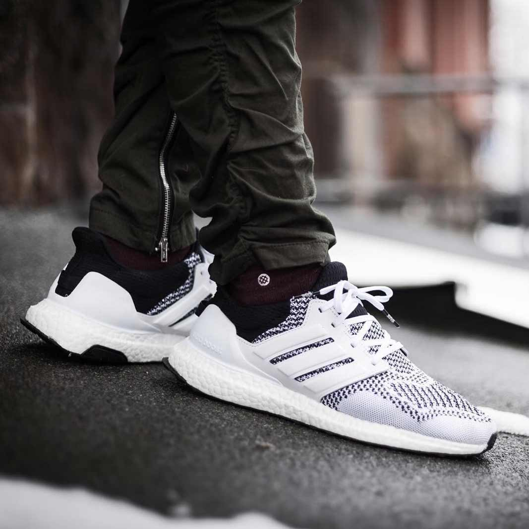 21a5177c0d433 KLEKT presents - adidas Ultra BOOST sneakers on feet