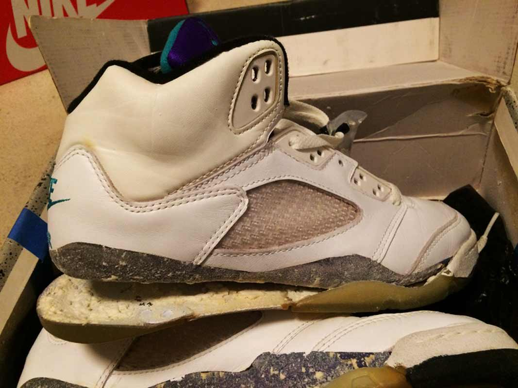 Nike Air Jordan 5 Grape 1990 OG