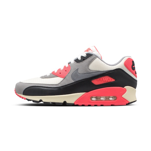 Following on the heels of the Air Max that started it all, the Air Max 90 was quickly recognized for its vibrant color scheme. The colors were specifically