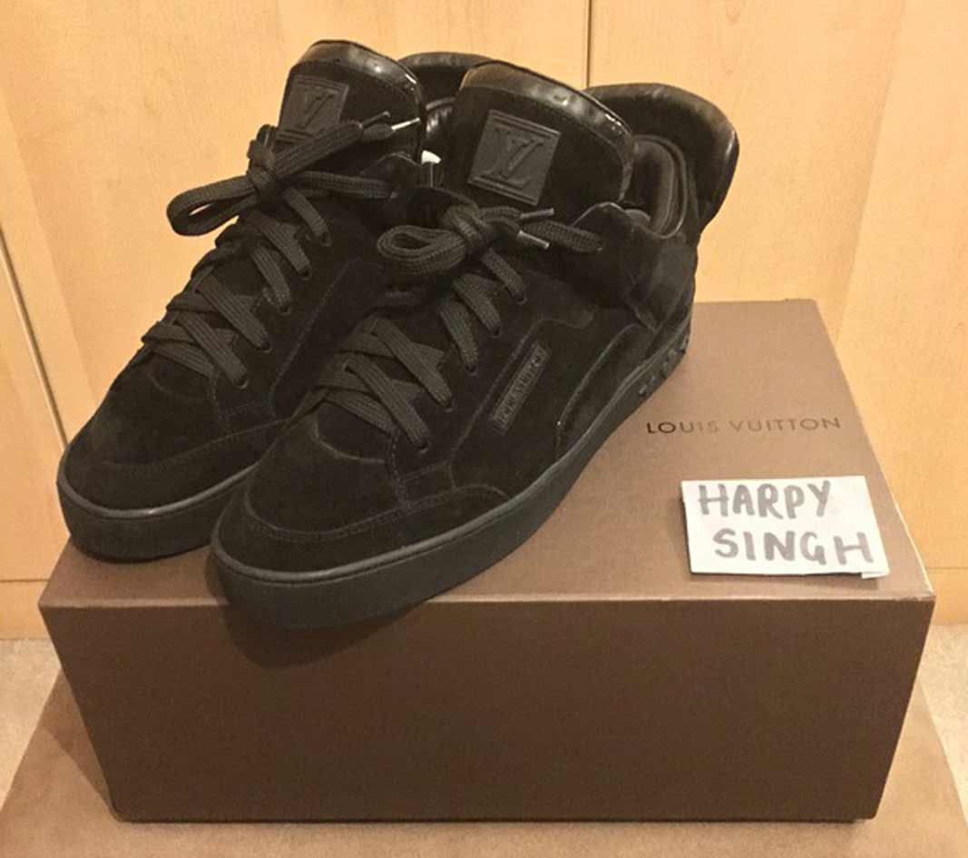 7c5c25e24 2009  Kanye West for Louis Vuitton  Don  (black) by Harpy – 1500 £