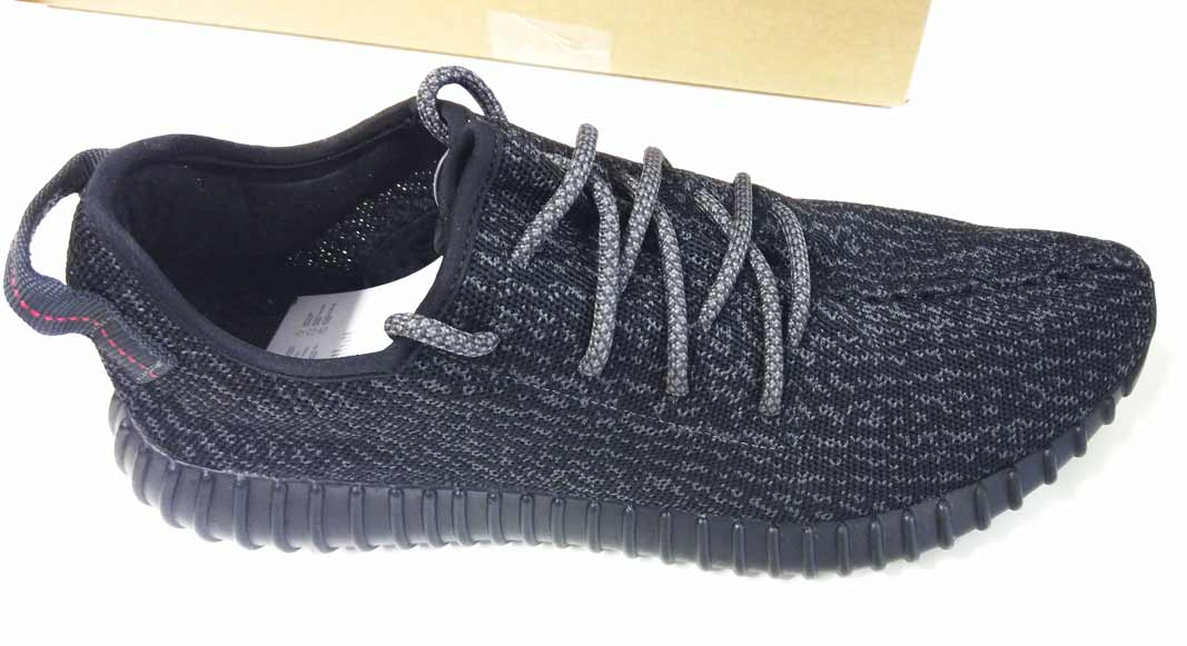 adidas YEEZY BOOST 350 Pirate Black (authentic) - 2015 and 2016 comparison e6d968dd3