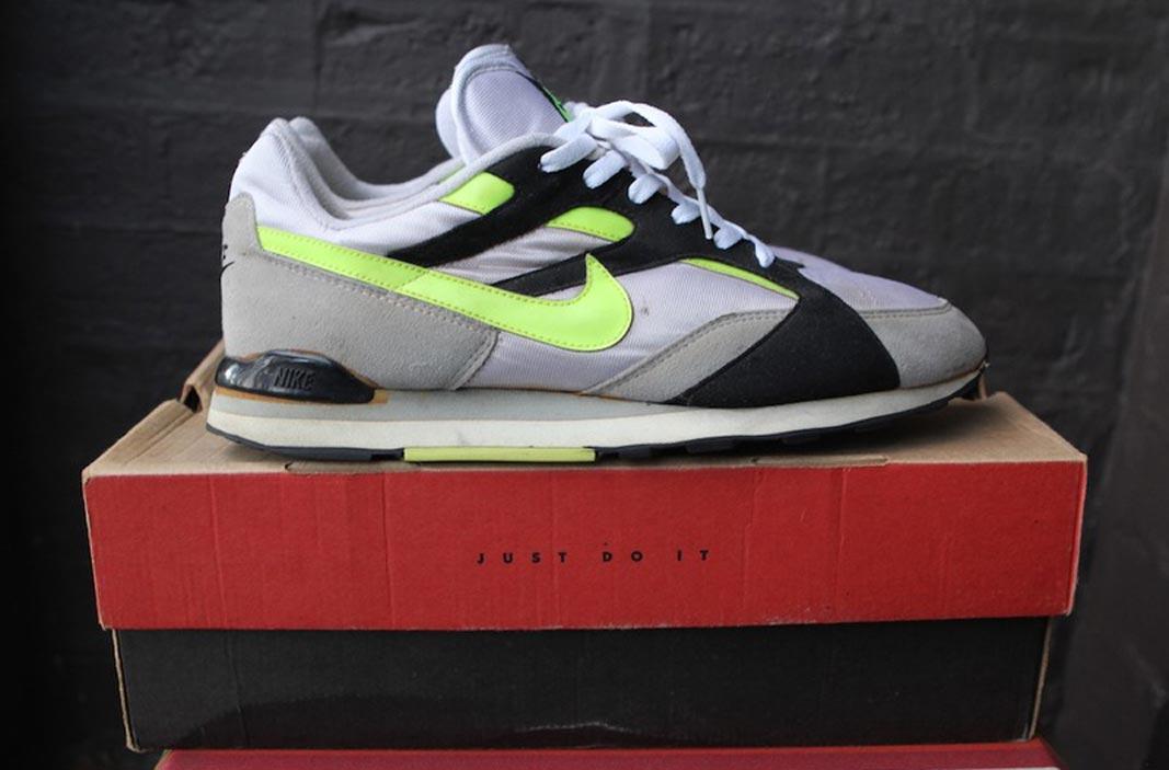 3020c04c53c5 Vintage Nike Neon Kicks - Models on KLEKT