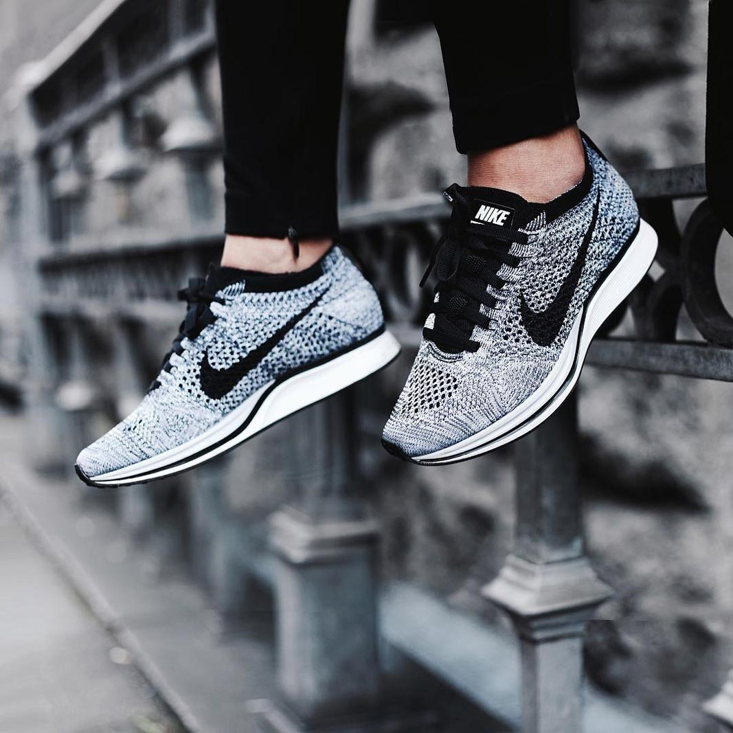 purchase cheap 6d870 56b0d france nike flyknit racer oreo 1.0 for sale 74444 fb128  coupon code for 15  facts about the nike flyknit technology 2e8d4 b24eb