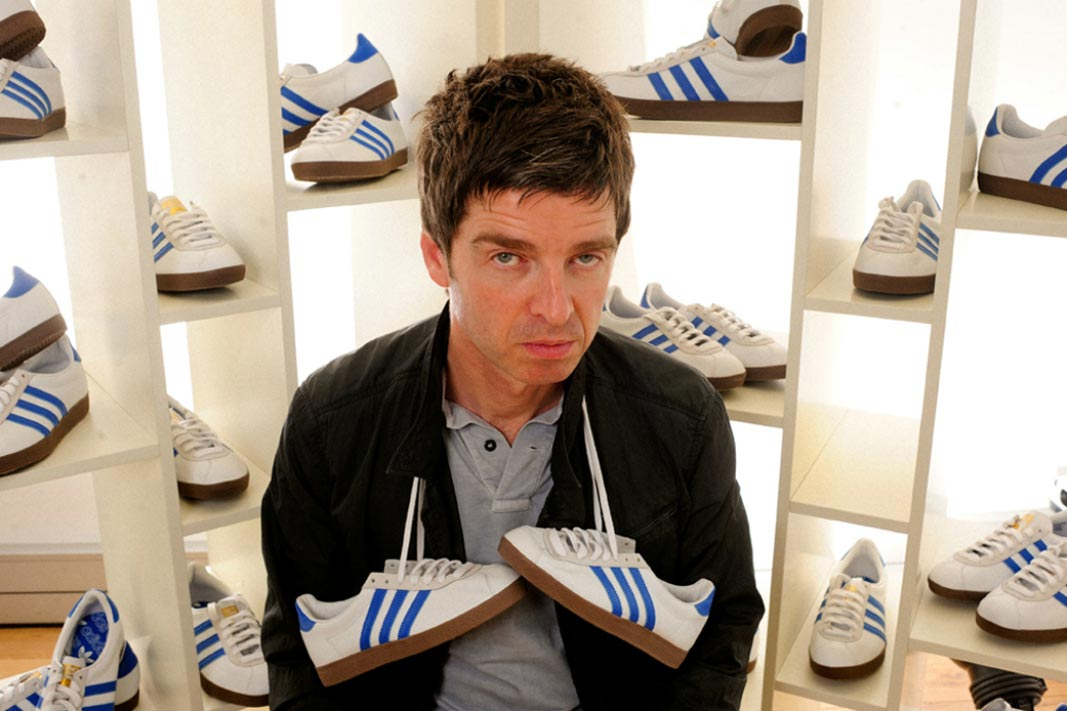 Oasis Noel Gallagher at adidas