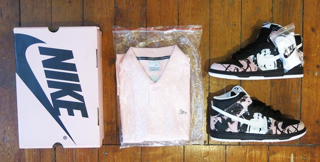 quality design 747d8 c0831 Futura x Nike SB Dunk High Pro  U.N.K.L.E.  (2005) Graffiti legend Futura  2000 applied his signature  Atmos  and  Pointman  pieces to the silhouette,  ...