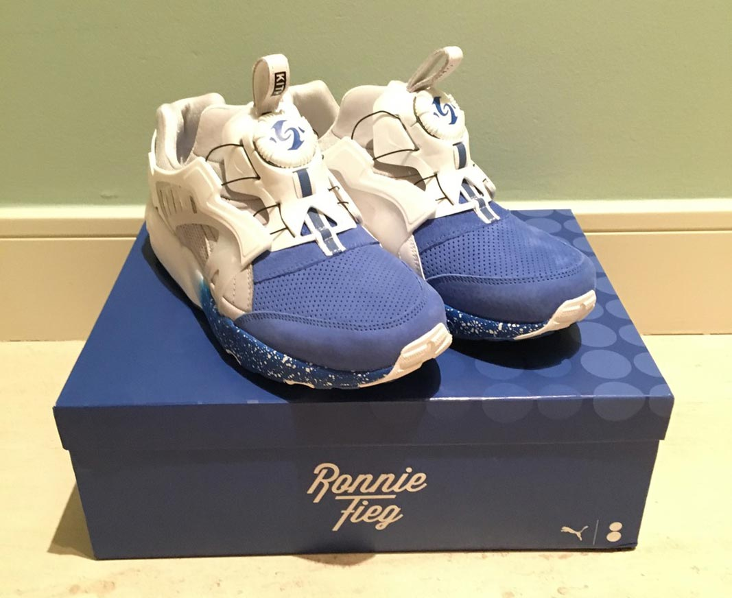 how do puma disc blaze fit