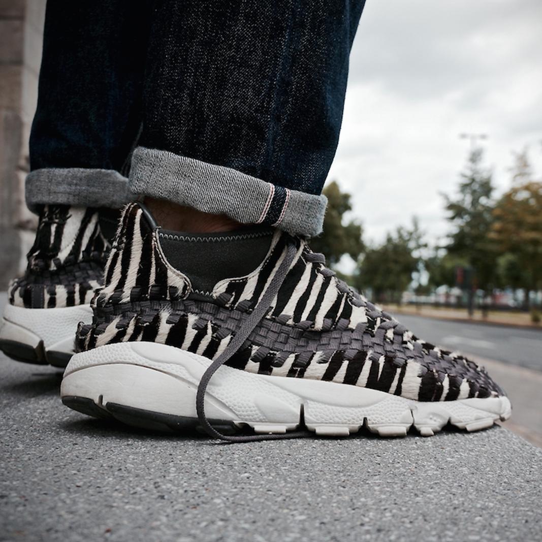 Nike Footscape Woven Chukka Zebra