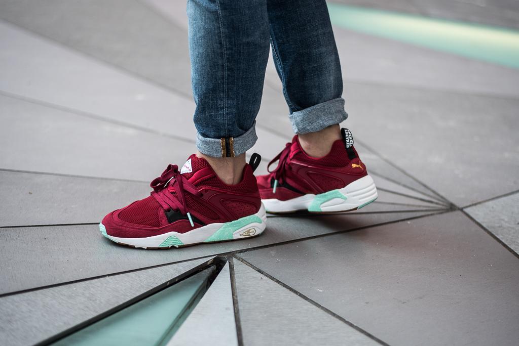 Sneaker Freaker x Puma Blaze Of Glory BOG Bloodbath
