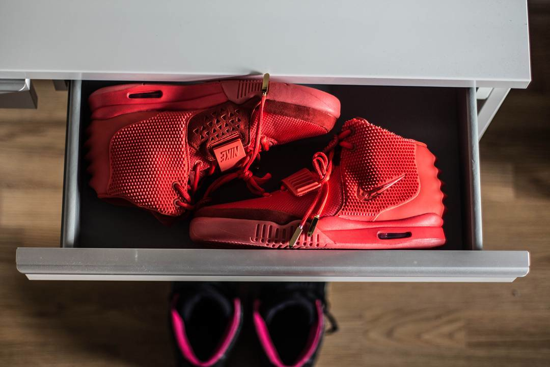 Nike Air Yeezy 2 Red October Kanye West