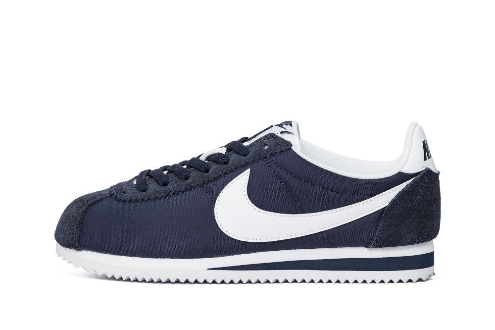 "Nike Wmns Classic Cortez Nylon ""Obsidian"" (749864-411)"