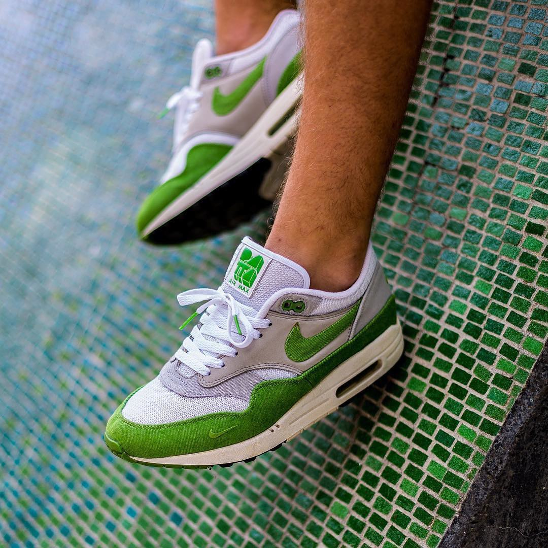 outlet store sale 5c6f9 14ba2 Nike Air Max 1 Patta Chlorophyll