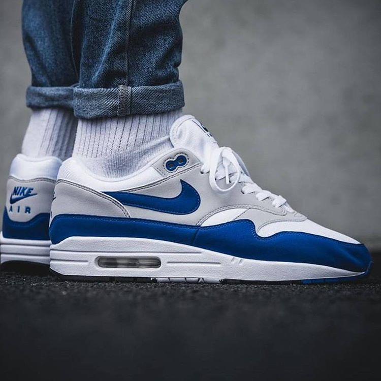 huge selection of 11cac ee909 Nike Air Max 1 Anniversary OG Blue