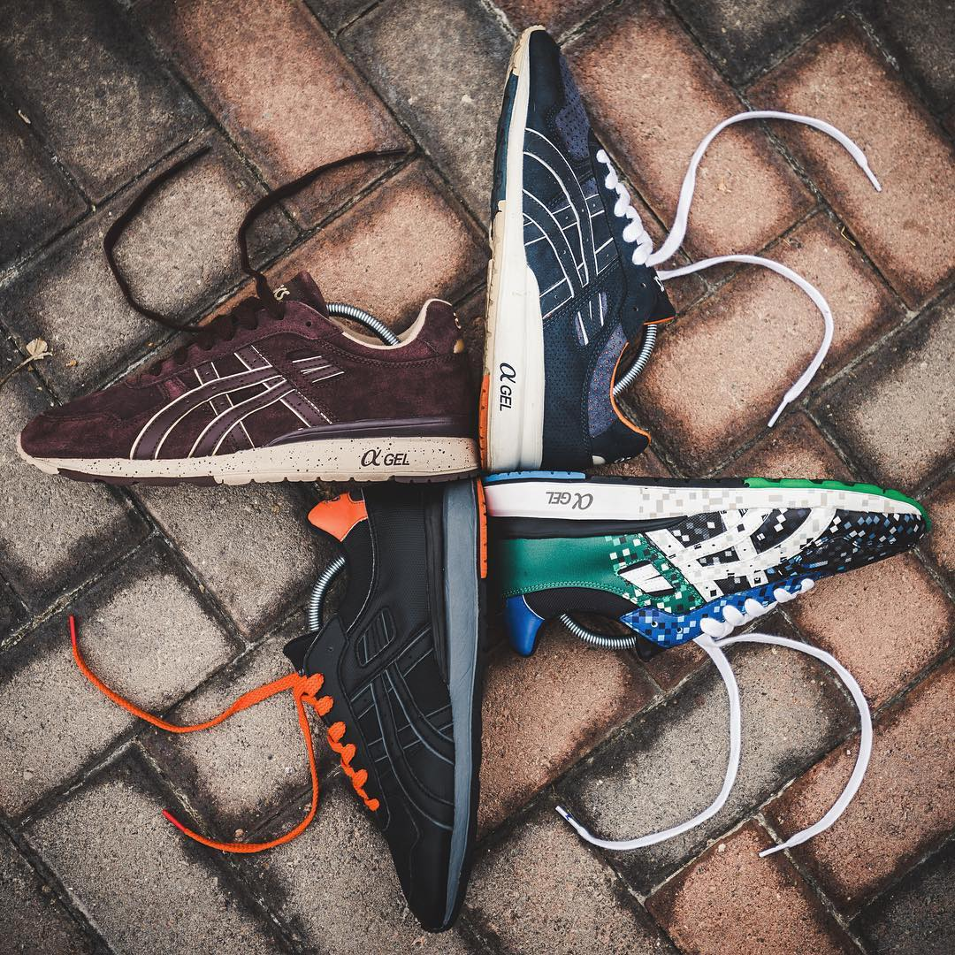My two favorite brands are Asics and Diadora'