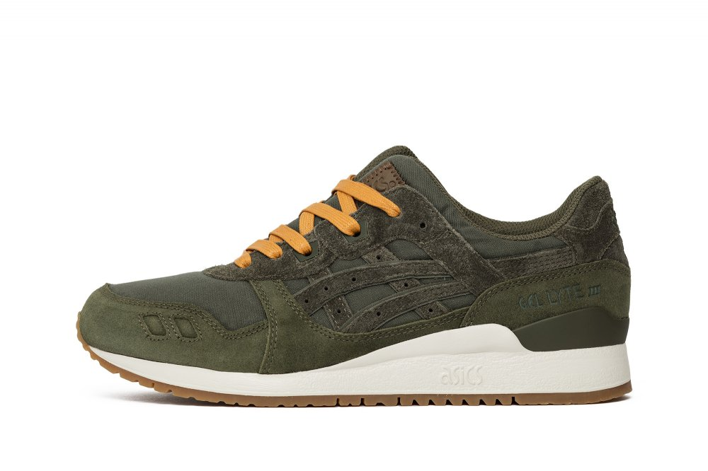 "Asics Gel-Lyte III x Sneakersnstuff ""Forest Pack"" (H72TQ-8484)"