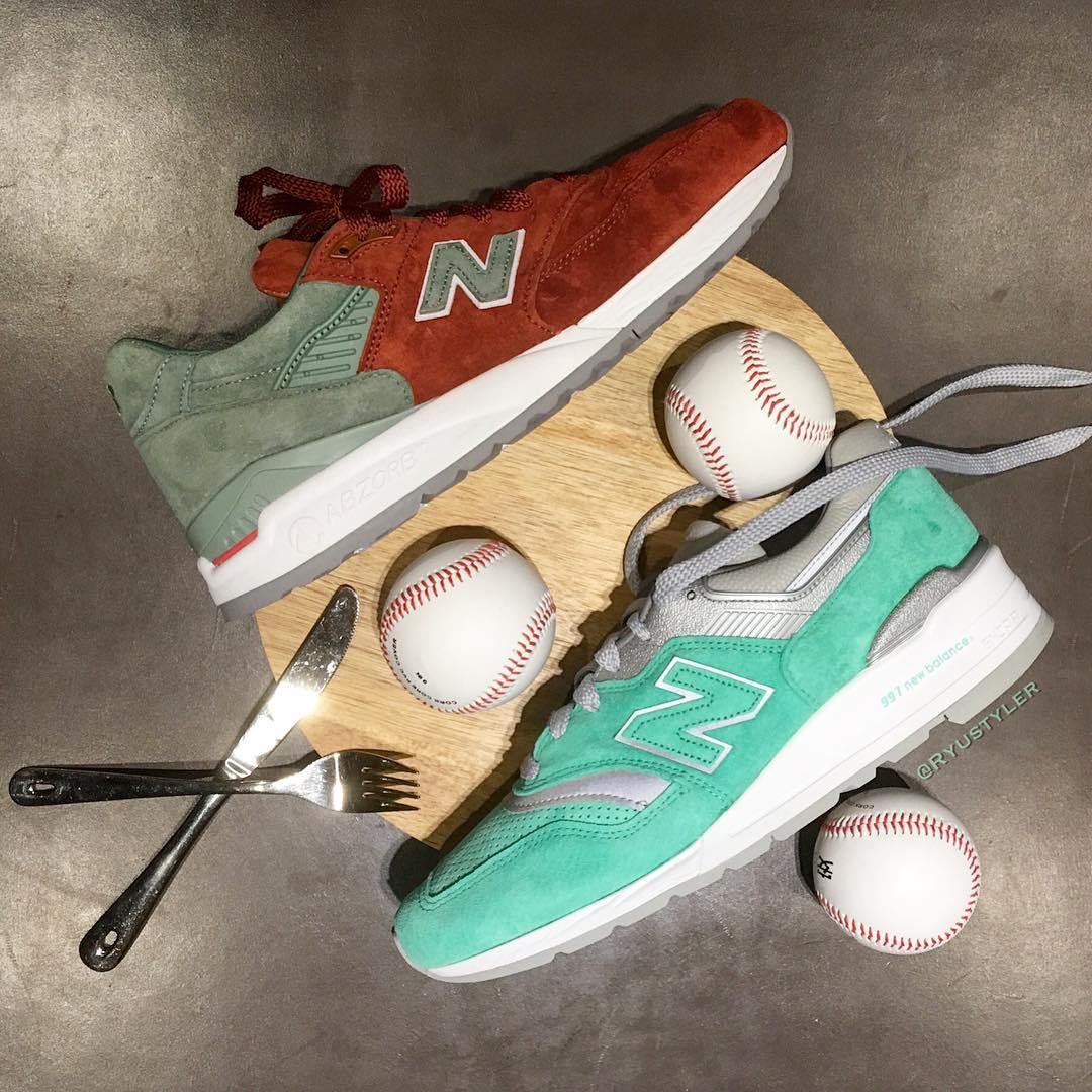 Concepts x New Balance City Rivalry Pack 997 998 New York Yankees Boston Red Sox