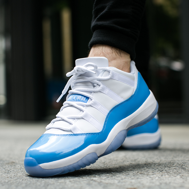 "Air Jordan 11 Retro Low ""University Blue"" (528895-106)"