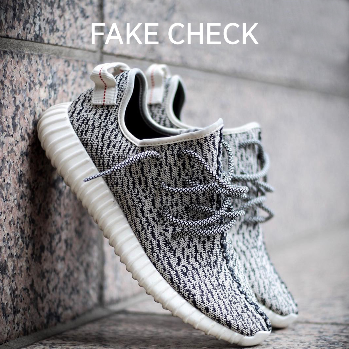 adidas Yeezy 350 Fake Check Turtle Dove