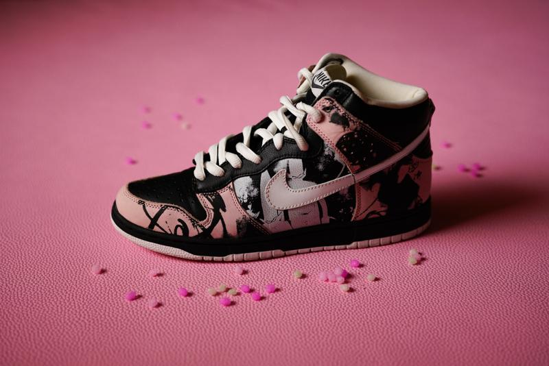 "Futura x Nike SB Dunk High ""Unkles"""