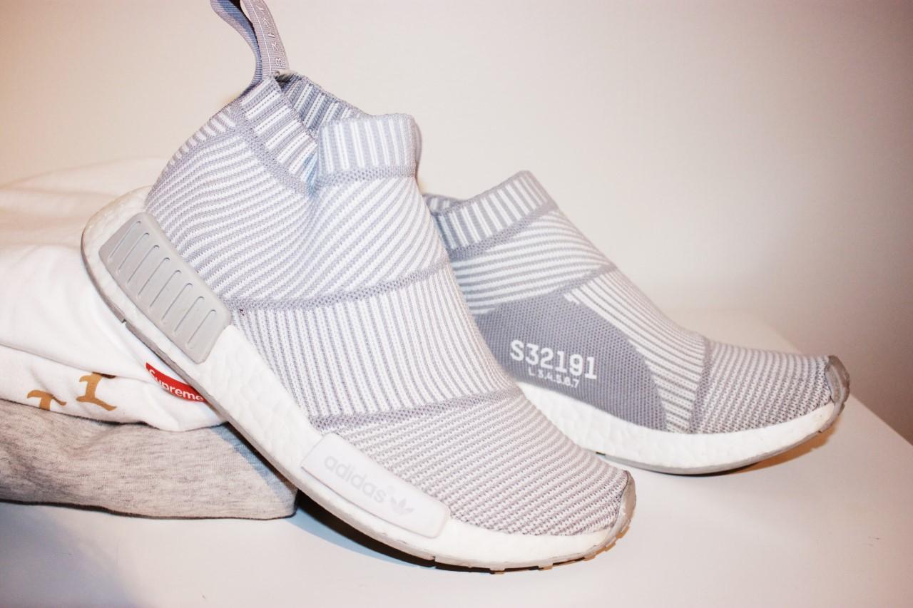 adidas NMD City Sock 1 PK White Grey
