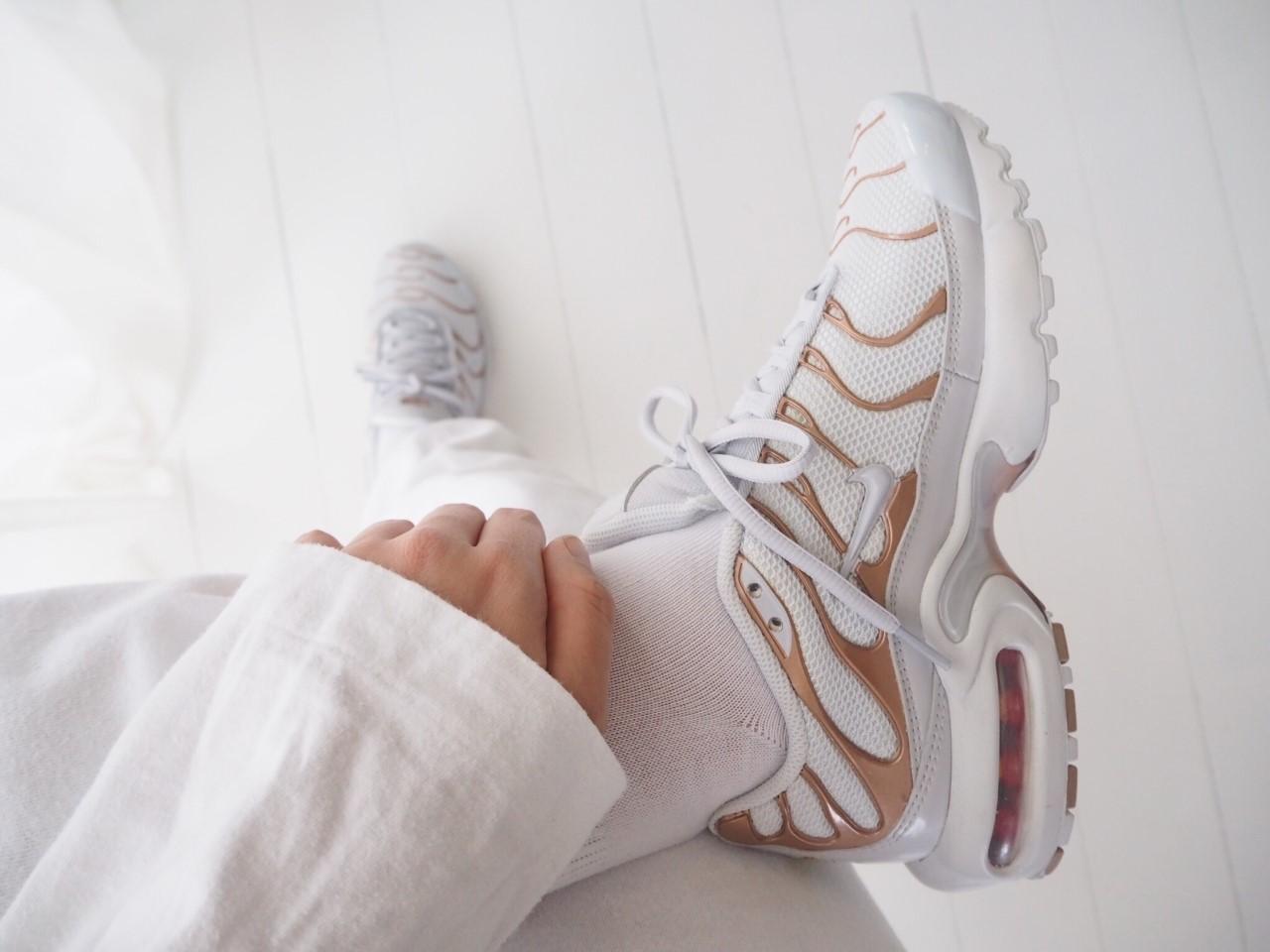 """Nike Air Max Plus TN """"White Metallic Bronze"""""""