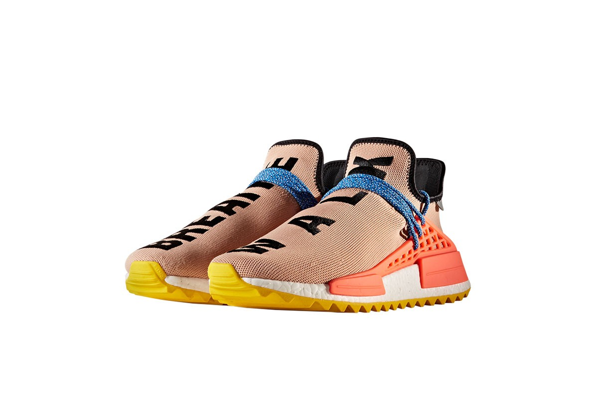 ADIDAS X PHARRELL PW HUMAN RACE NMD 7 13 YELLOW